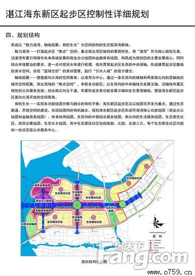 湛江海东新区规划:组团式开发打造生态型滨海新城